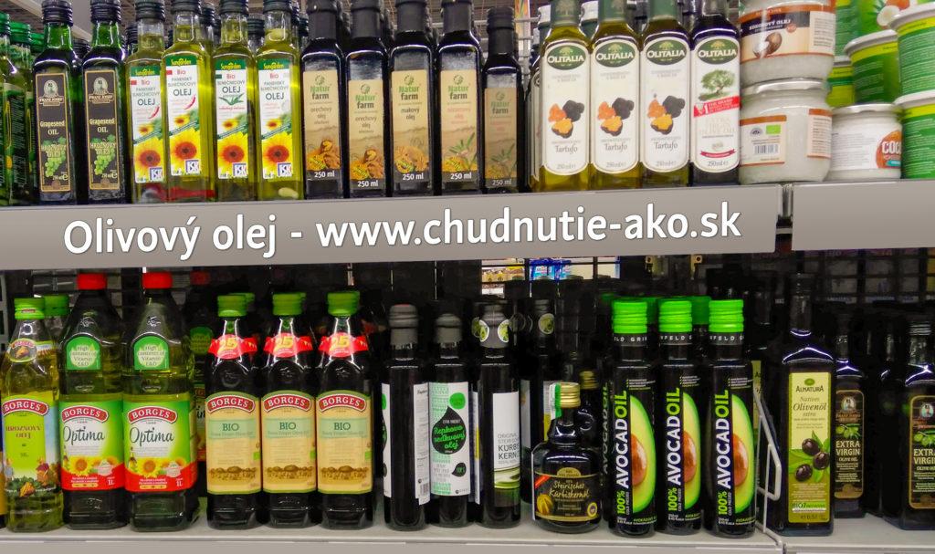 Olivový olej v hypermarketech
